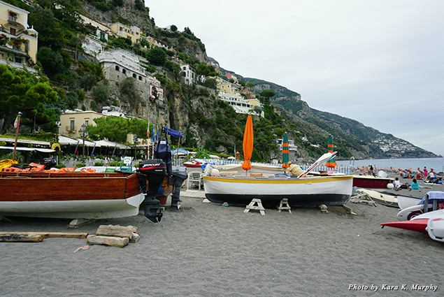 The village of Positano