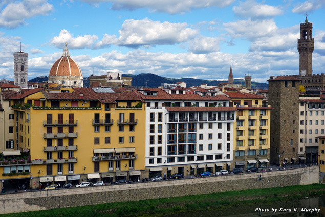 View of the Arno River from Hotel Lungarno