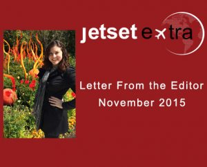 Letter From the Editor: November 2015
