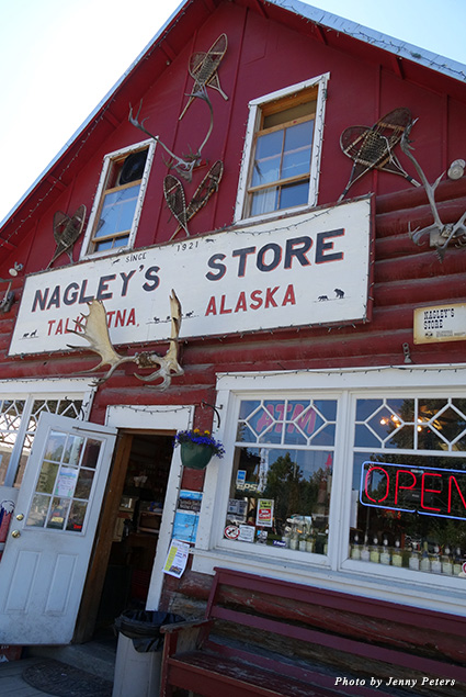 Nagley's General Store in Talkeetna, Alaska