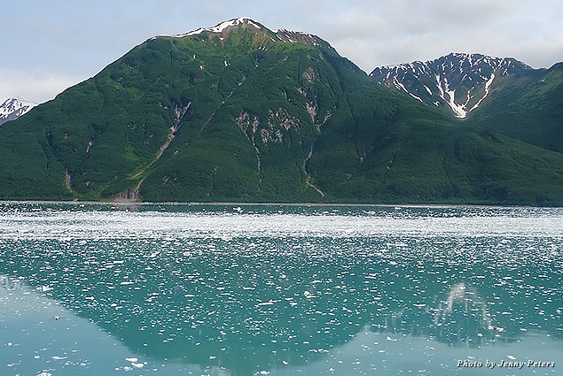 The gorgous vistas in Alaska's Disenchantment Bay