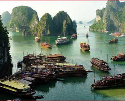 Scenery of Emeraude Classic Cruises