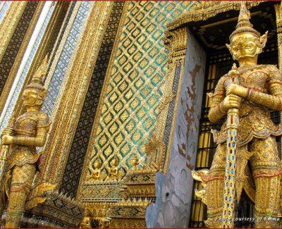 Palace Guardians in Bangkok, Thailand