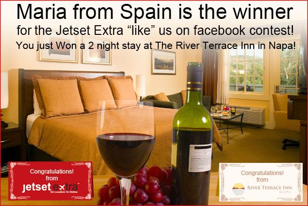 Congratulations Napa Contest Winner