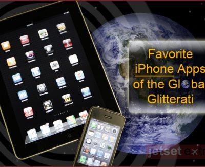 Favorite iPhone Apps of the Global Glitterati