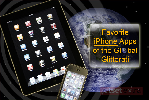Favorite iPhone Apps of the Global Glitterati