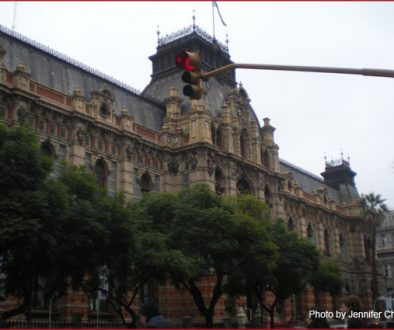 One of the oldest buildings in Buenos Aires, built in the 18th century