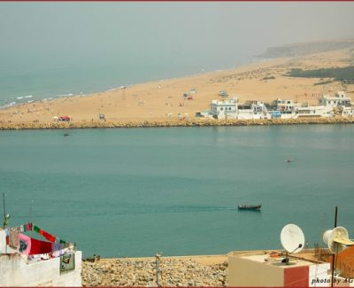 Larache Beach in Morocco