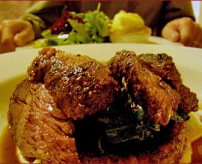 Classics like kangaroo and meat pie are wonderfully and originally prepared at Grazing in Gundaroo, NSW