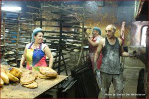 Levon, Bread Baker in Yerevan
