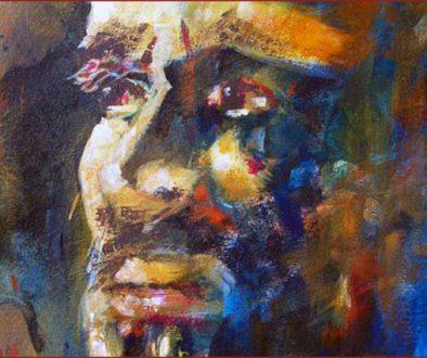 "Humberto Rivera art from the very first ROSARITO ART FEST 2010, ""The Art Festival."""