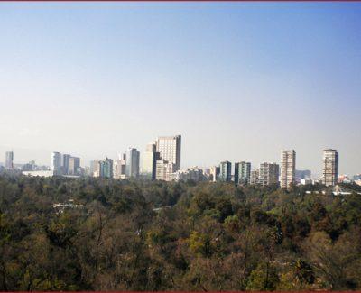 Mexico City and the Park of Chapultepec