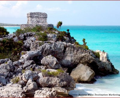 Mayan archeological ruins at Tulu