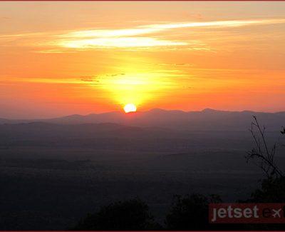 Sunrise over Borana Ranch at Laragai House