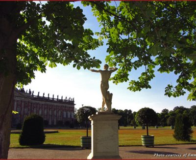 The New Palace garden in Potsdam, Germany