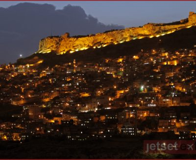 Mardin, Turkey at night