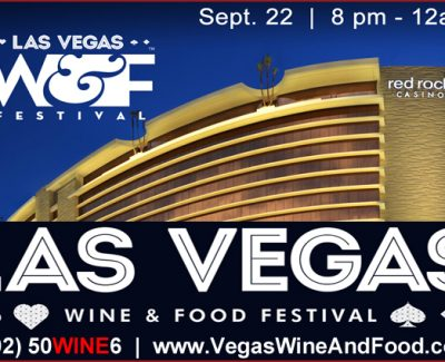 The Las Vegas Wine and Food Festival returns to the Red Rock Casino