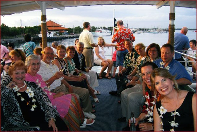 One of our lovely tour groups in Bali