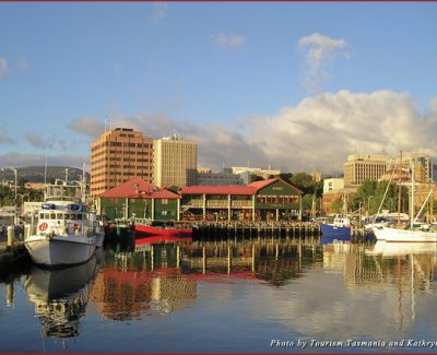 The Hobart waterfront