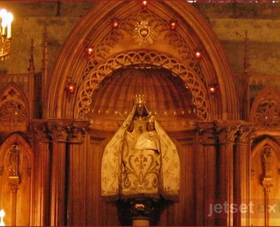 Black Madonna at Chartres in Northern France