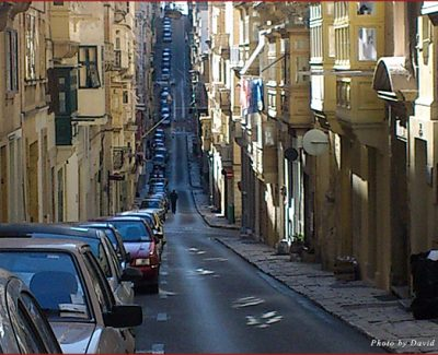 Valetta Slopes & Stairs