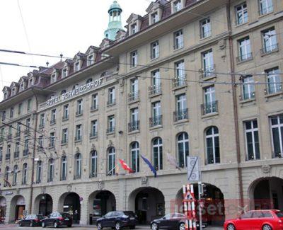 Schweizerhof Hotel in Bern, Switzerland