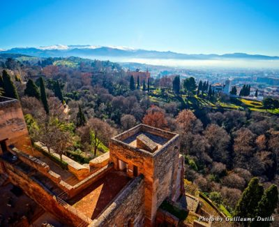 The view of Granada from the fortress