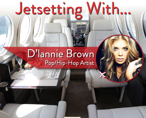 Jetsetting With Rising Pop/Hip-Hop Artist D'lannie Brown