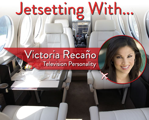 Jetsetting With Television Personality Victoria Recaño