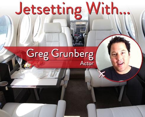 Jetsetting With Actor Greg Grunberg