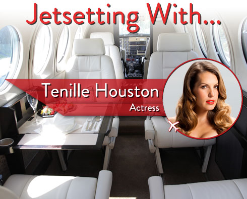 """Jetsetting With """"The Canyons"""" Actor Tenille Houston"""