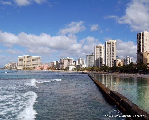 Hawaii set the scene for Douglas Corleone's first three novels
