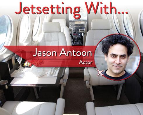 Jetsetting With Actor Jason Antoon