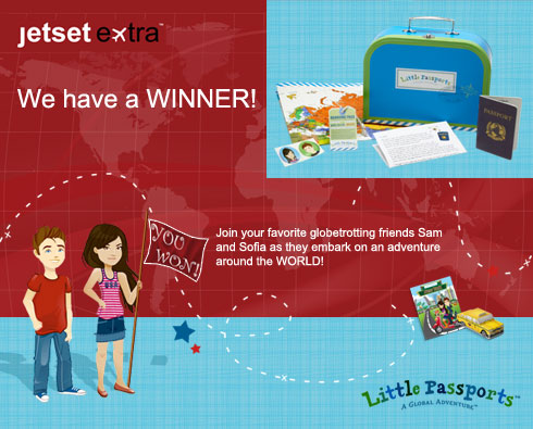 Announcing Our Little Passports Subscription Winner!