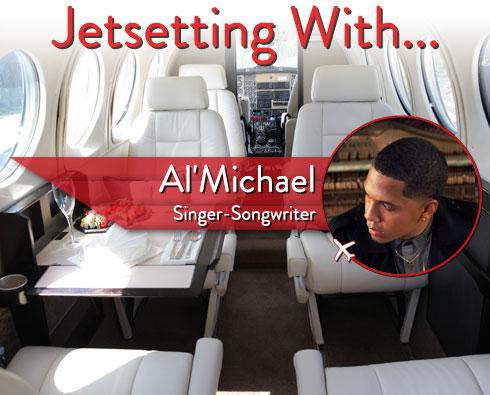 Jetsetting With Singer-Songwriter Al'Michael
