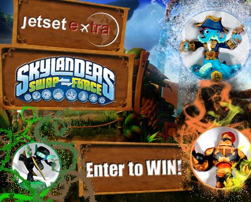 Enter to Win a Skylanders SWAP Force™ Starter Kit
