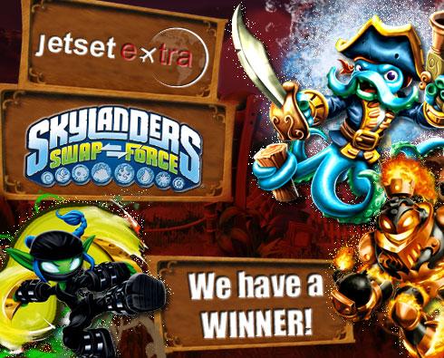 Announcing Our Skylanders SWAP Force™ Starter Kit Winner!