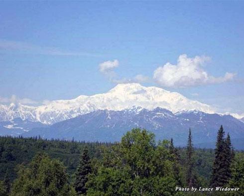 Alaska's Mount McKinley, the highest peak in the United States