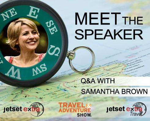 Meet the Speaker: Travel Channel Host Samantha Brown