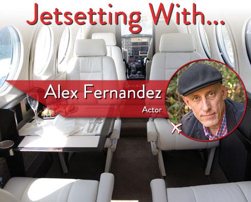 "Jetsetting With ""Killer Women"" Star Alex Fernandez"