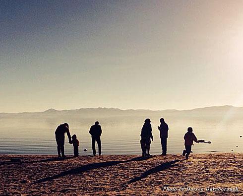 Christmas in Lake Tahoe