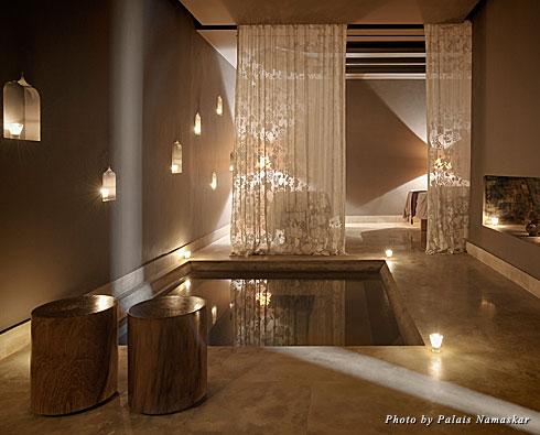 The spa at Marrakech's Palais Namaskar