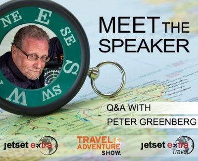 Meet the Speaker: CBS News Travel Editor Peter Greenberg