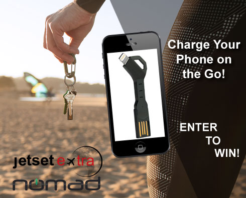 Charge Your Phone on the Go With a Nomad ChargeKey
