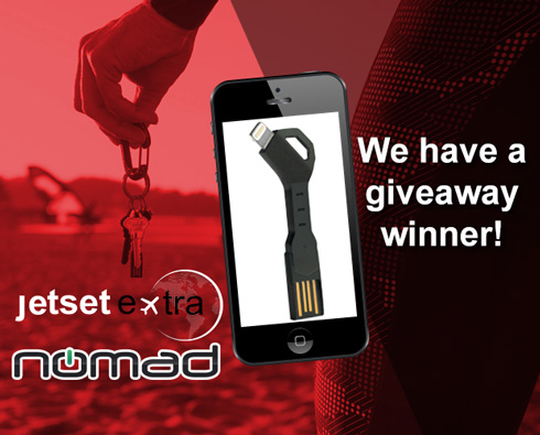 Find Out If You Won a Nomad ChargeKey!