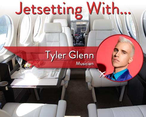 Jetsetting With Neon Trees' Tyler Glenn