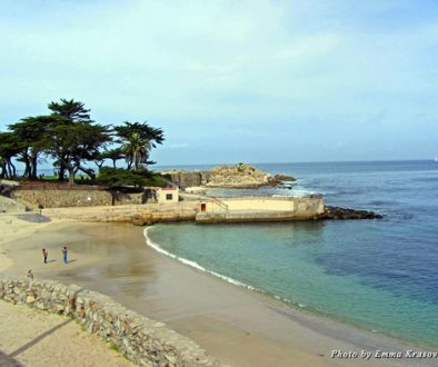 A view of Lovers Point at Pacific Grove