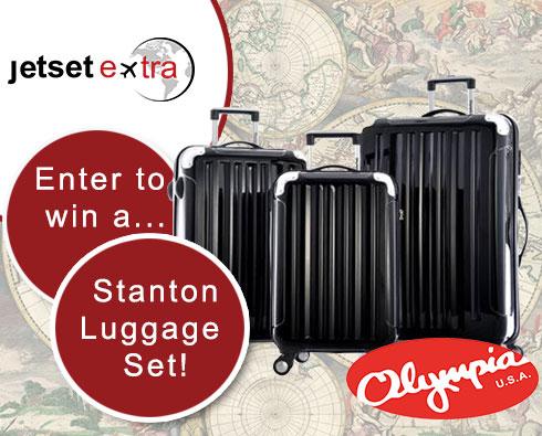 Enter to Win a Stanton Luggage Set!