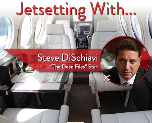 """Jetsetting With """"The Dead Files"""" Star Steve DiSchiavi"""