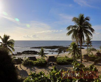 Looking over Yasawa Island Resort & Spa